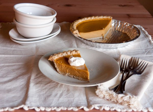 This is the best Pumpkin Pie ever, seriously!